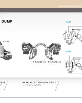 REAR AXLE TRUNNION ASS'Y-HINO DUMP