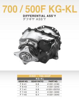 HINO-700/500 F KG-KL