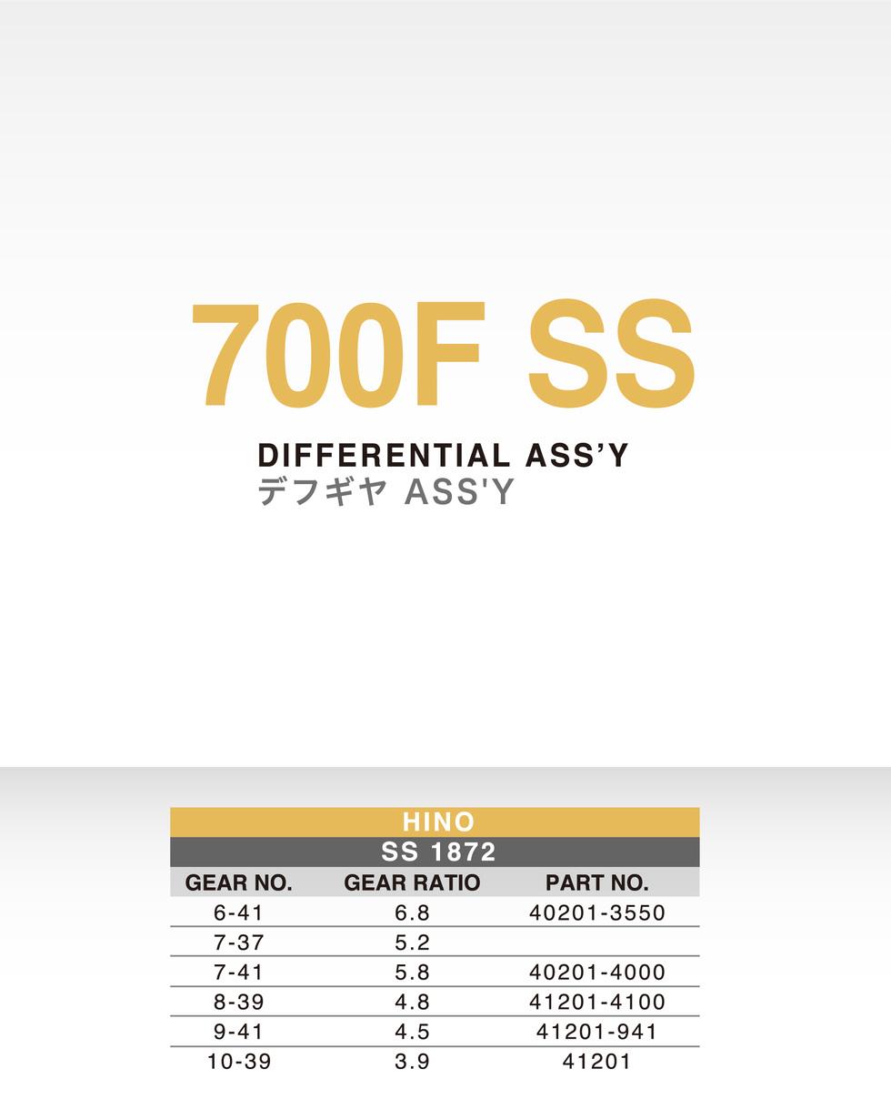 HINO-700F SS