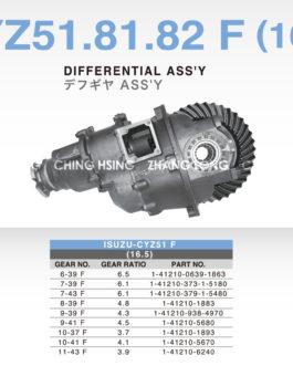 ISUZU-CYZ51.81.82 F (16.5)