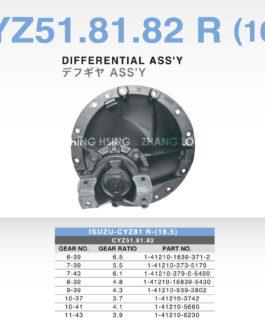 ISUZU-CYZ51.81.82 R (16.5)
