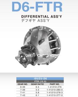 ISUZU-D6 FTR